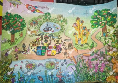 画啦啦学员优秀作品获中国儿童中心官网展览